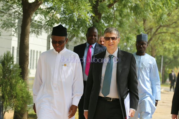 bill gates meeting kaduna