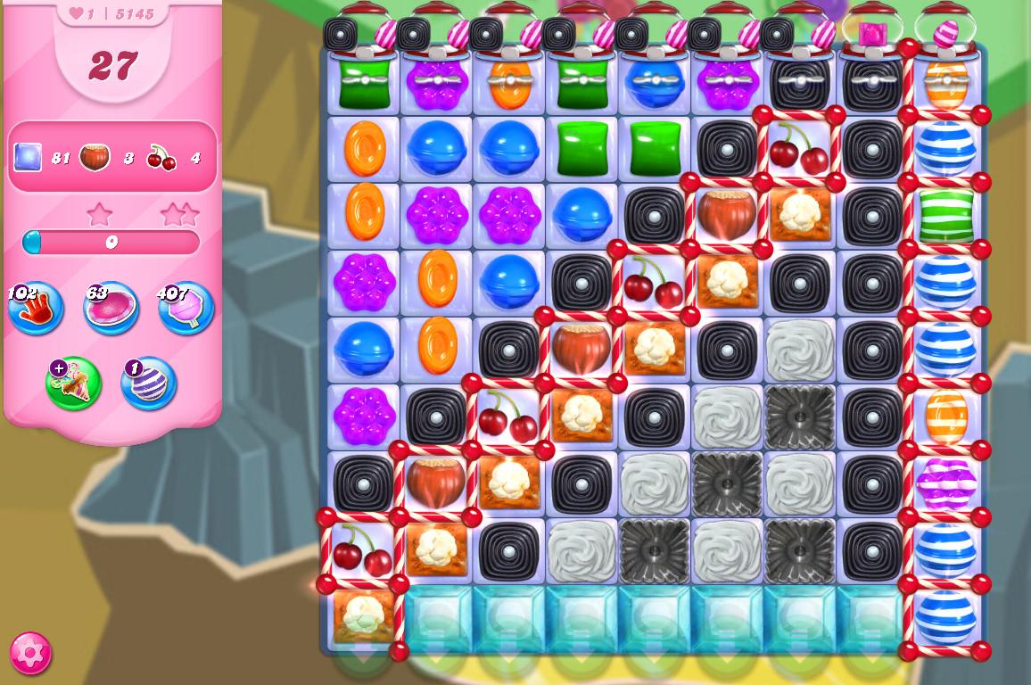 Candy Crush Saga level 5145