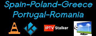Poland Eleven Digi OTE Spain Portugal VLC M3U