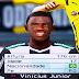 Face Vinicius Junior do Flamengo