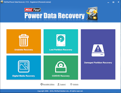 Download MiniTool Power Data Recovery 7 + Serial Key