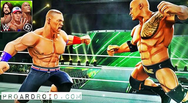 لعبة WWE Mayhem v1.15.351 مهكرة كاملة للاندرويد (اخر اصدار) logo
