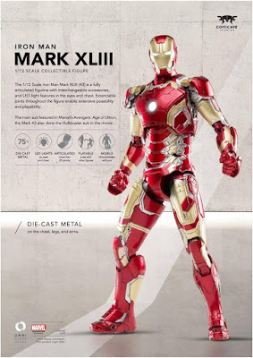 Iron Man Mark XLIII della Comicave Studios