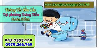 Thông tắc bồn cầu và hút bể phốt tại tràng tiền,thông tắc cống,chậu rửa,toilet,thoát sàn 0977.935.825
