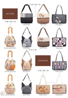 tas wanita cantik, satchel bag, shoulder bag lucu