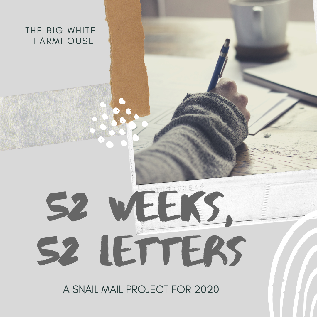 my snail mail project