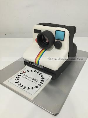 tarta camara polaroid 1