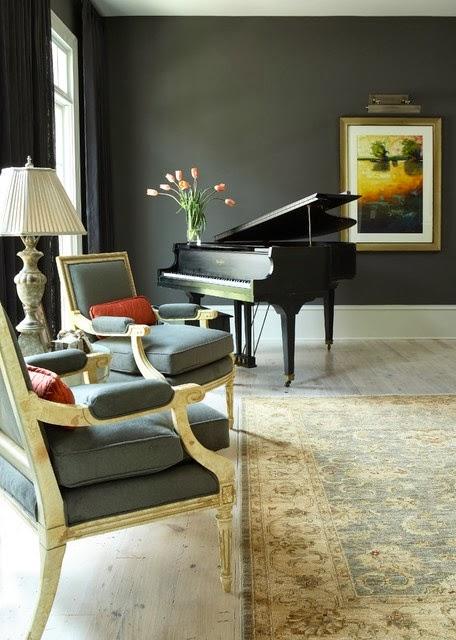 Lisa Mende Design My Top 5 Favorite Charcoal Gray Paint