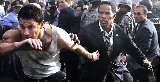 White House Down - Channing Tatum - Jamie Foxx