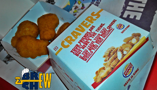 Burger King, Cheese Chicken Nuggets