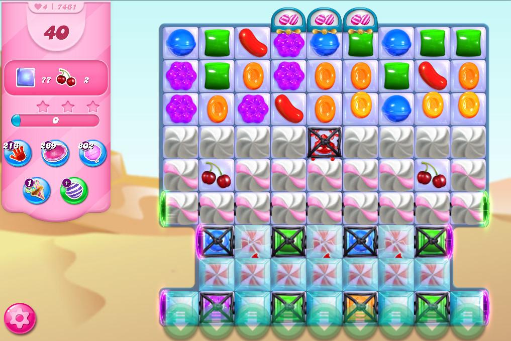 Candy Crush Saga level 7461