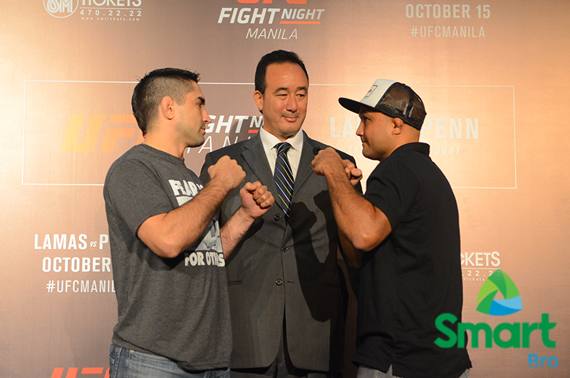 UFC Fight Night Manila is powered by Smart Bro