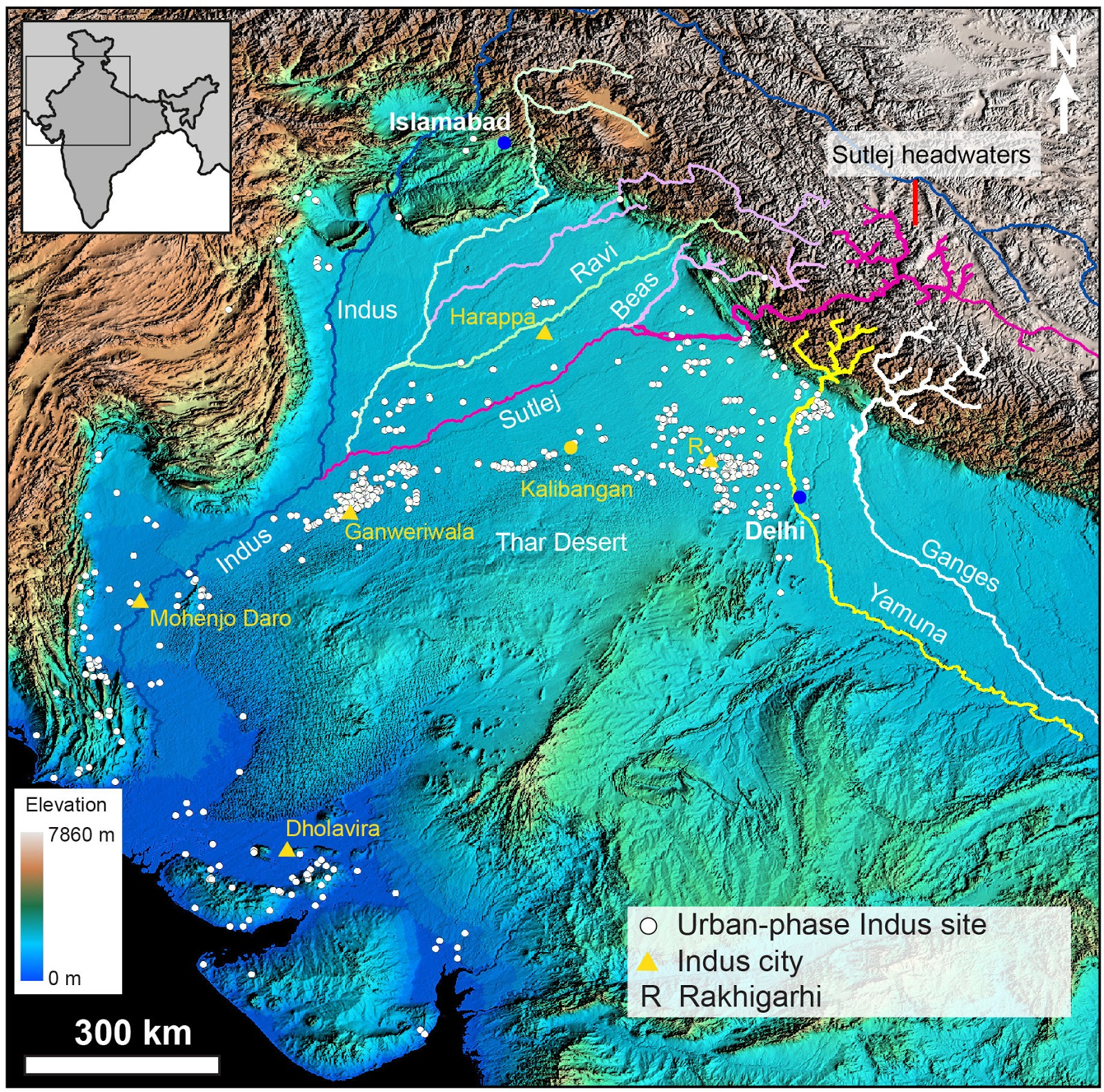 Scientists Show How Himalayan River System Influenced