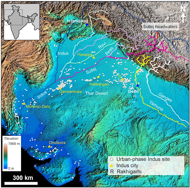 Scientists show how Himalayan river system influenced ancient Indus Civilisation