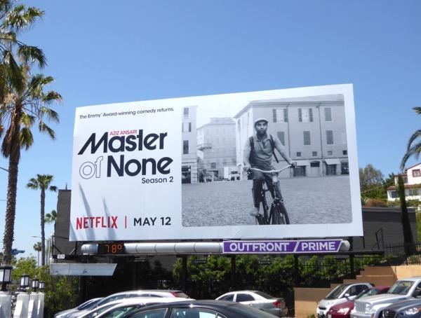 Master of None season 2 billboard