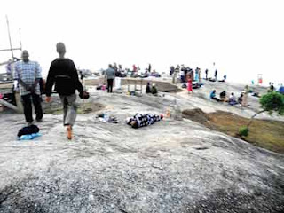 Kpakoto praying Mountain in nigeria