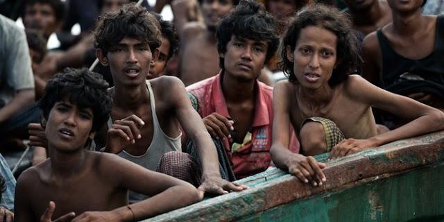 Kampung diserang tentara, 26 muslim Myanmar tewas
