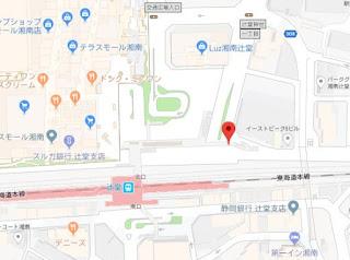 辻堂駅 北口 交差点 白バイ ねずみ取り