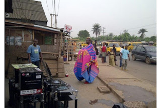 See Gobe As Barcelona Fan Causes Commotion In Lagos (See Photo)