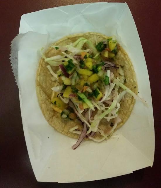 El Pulpo Loco, shrimp taco, Rogers Park Taco Crawl
