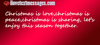 Christmas text messages and sms
