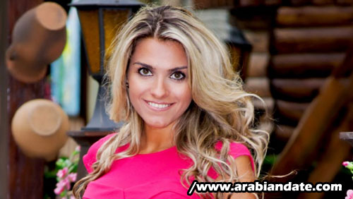 Olga,38, Ukraine. Photo courtesy Arabiandate