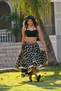 Hebah Patel in Spicy Black Choli and Ghagra HD Pics  018.jpg