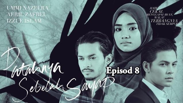 Tonton Online Drama Patahnya Sebelah Sayap Episod 8 (HD)