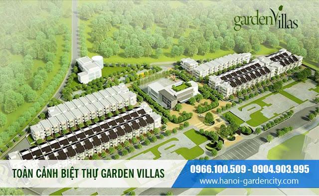 Biệt thự Hà Nội Garden City, Biệt thự Garden City Long Biên