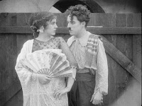 "Кадр из фильма Чарли Чаплина ""Пародия на Кармен"" / Burlesque on Carmen (1916) - 21"