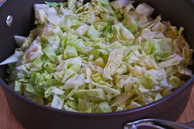 Deconstructed Stuffed Cabbage Casserole Recipe found on KalynsKitchen.com