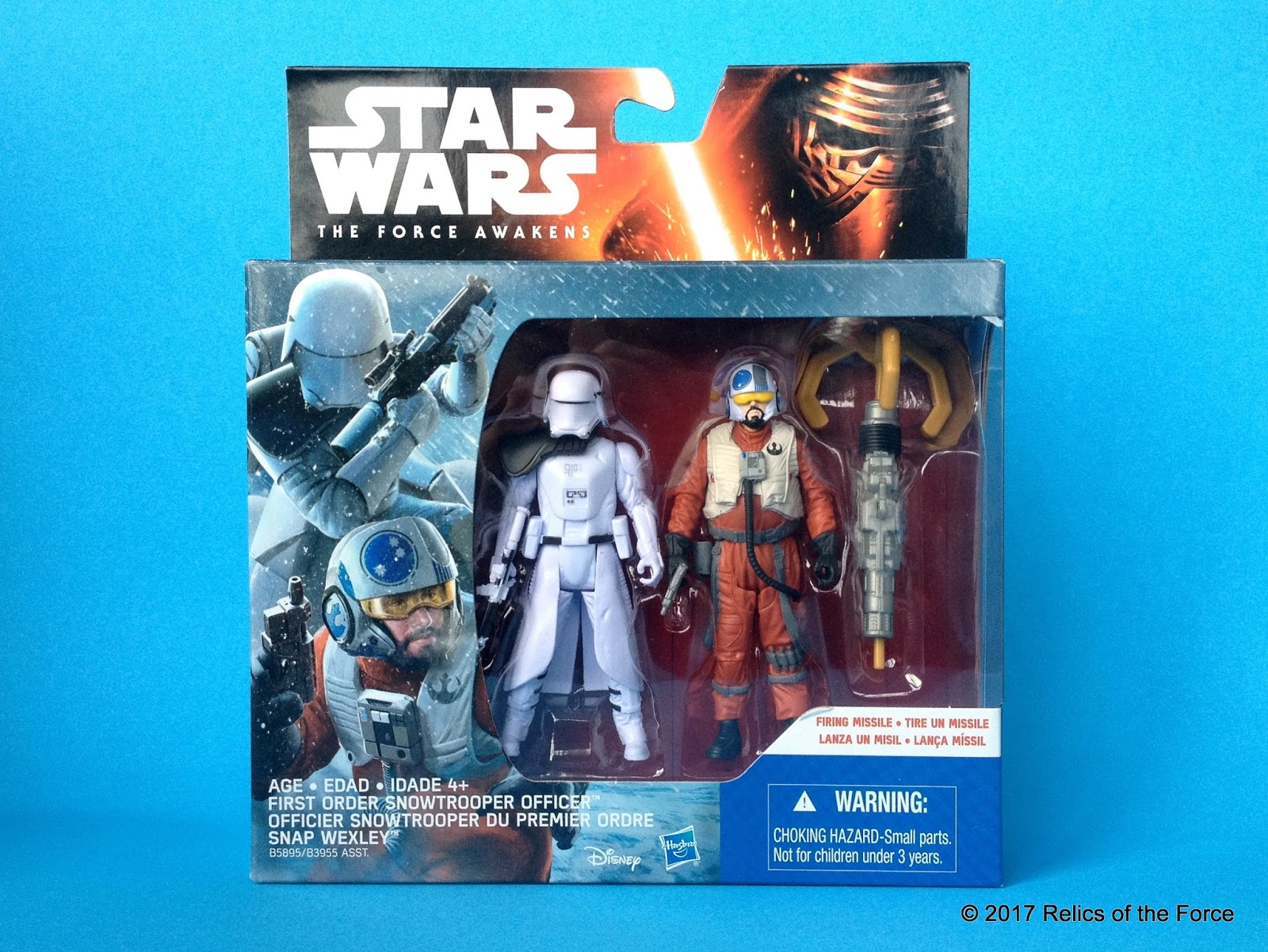 Star Wars The Force Awakens Sidon Ithano /& First Mate Quiggold  Figure 2-Pack