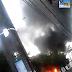 Micro-ônibus incendiou na Brigadeiro Everaldo Breves em Parnamirim