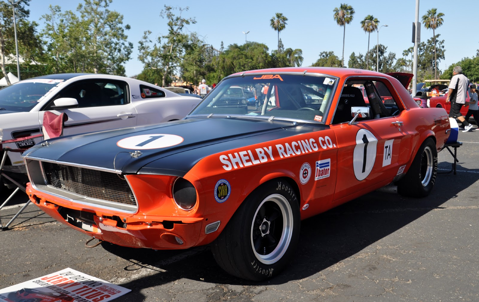 Titus Will Chevrolet >> Just A Car Guy: the Jerry Titus 1968 SCCA Trans Am series winning Shelby Mustang