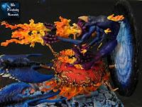 Chaos Daemons Burning Chariot of Tzeentch WiP 9