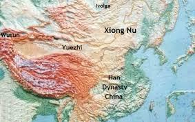 Юеджите(Yuezhi) в северен Китай/Таримска котловина преди миграцията