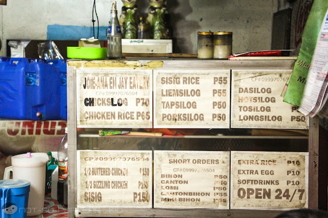 Prices and Menu of Joie-Ana & Jay's Eatery