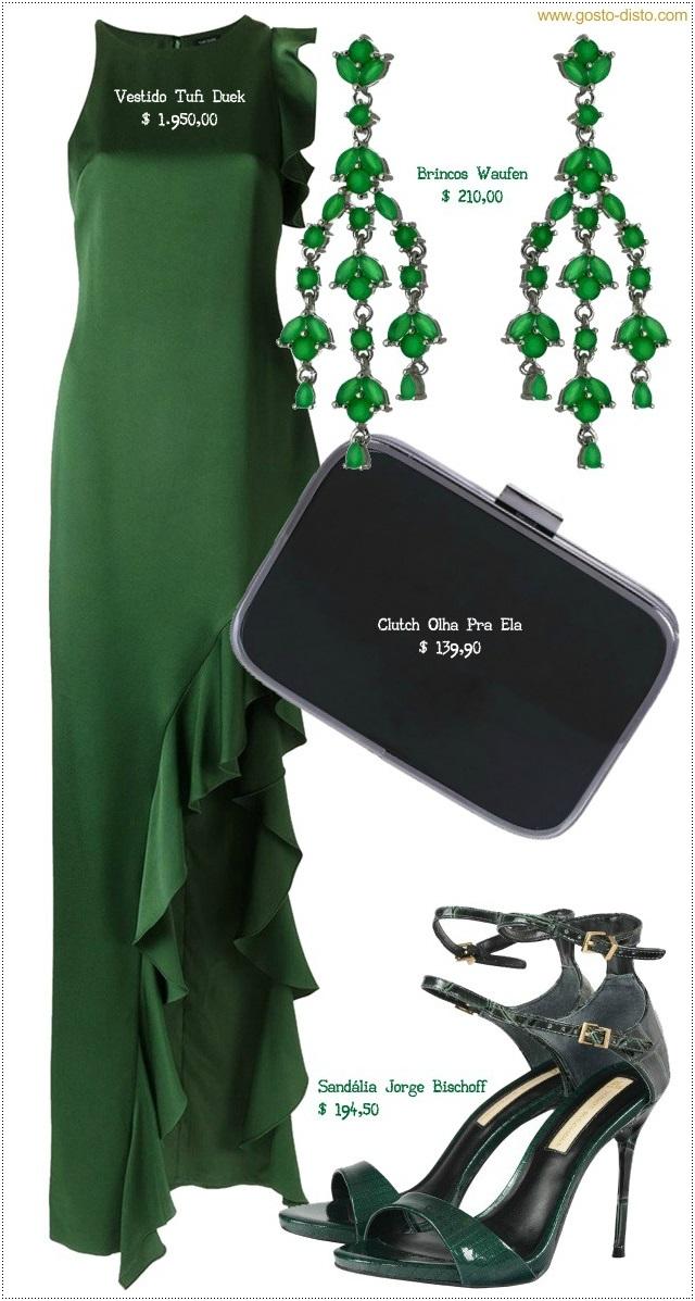 Como usar verde no natal