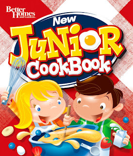 Better Homes and Gardens Junior Cookbook - Great gift idea for kids who like to cook!