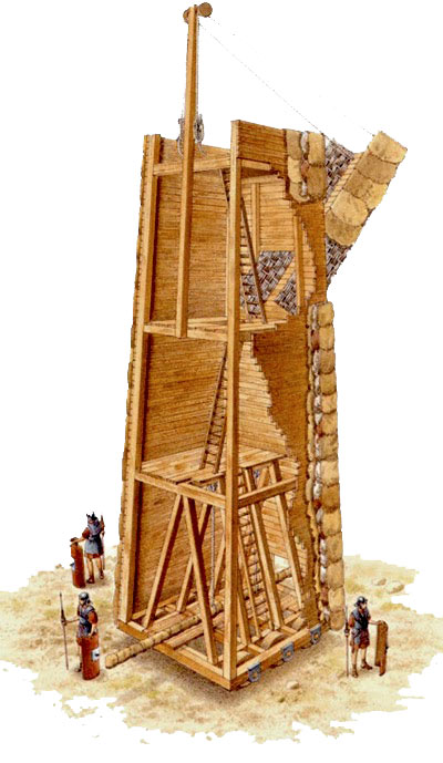 Macchine da guerra for Mobili medievali