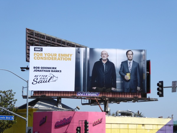 Better Call Saul 2016 Emmy nomination billboard