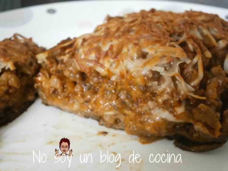 Berenjenas al horno rellenas de carne no soy un blog de cocina - Berenjenas rellenas al horno ...