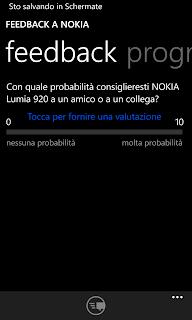 Come scegliere di disabilitare l'invio Dei feedback che sui Nokia Lumia