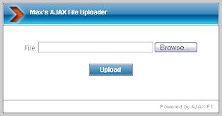 web sitesi için ajax yükleme kodu