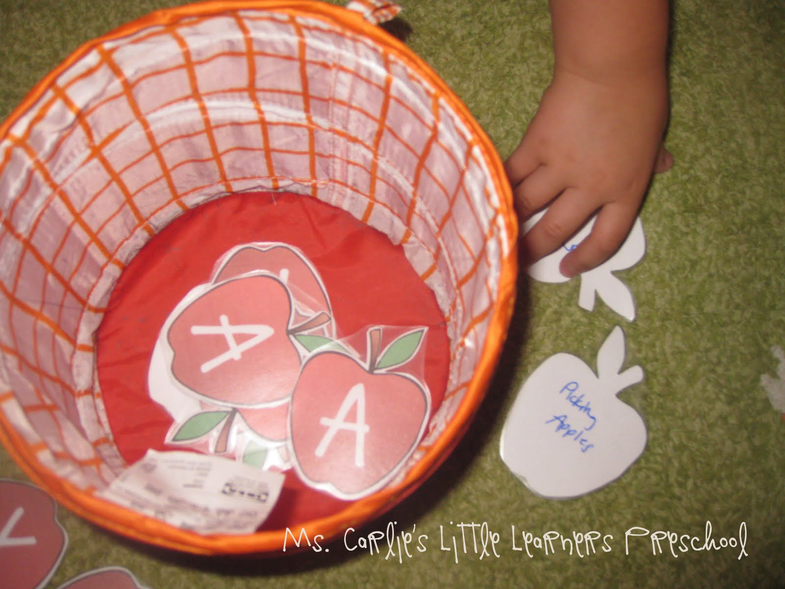 Ms Carlie S Little Learners Preschool Letter A Games Amp Activities