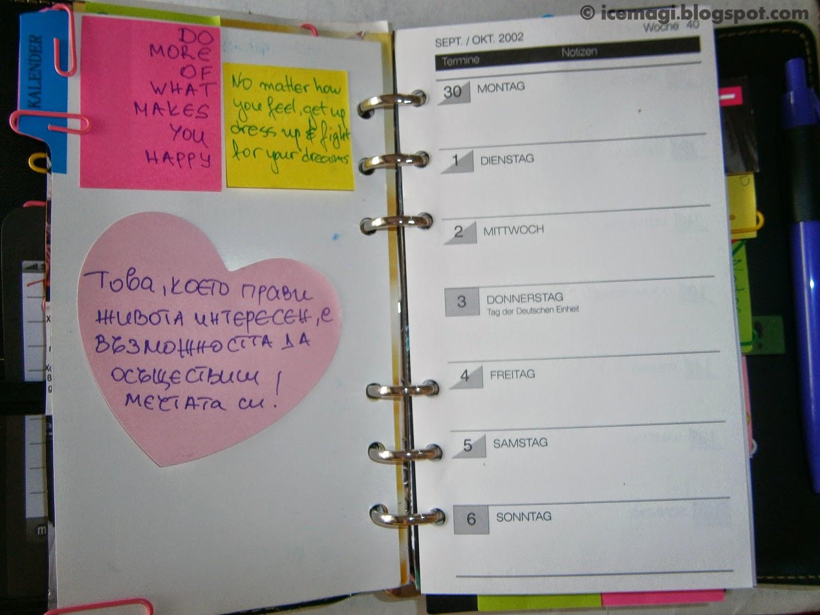 my planner calendar