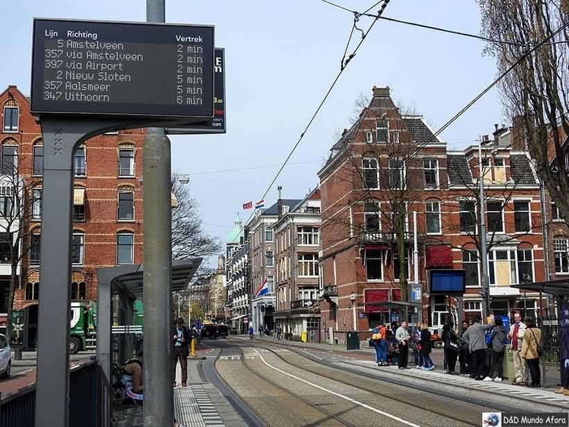 Diário de Bordo - 2 dias em Amsterdam - ônibus para aeroporto