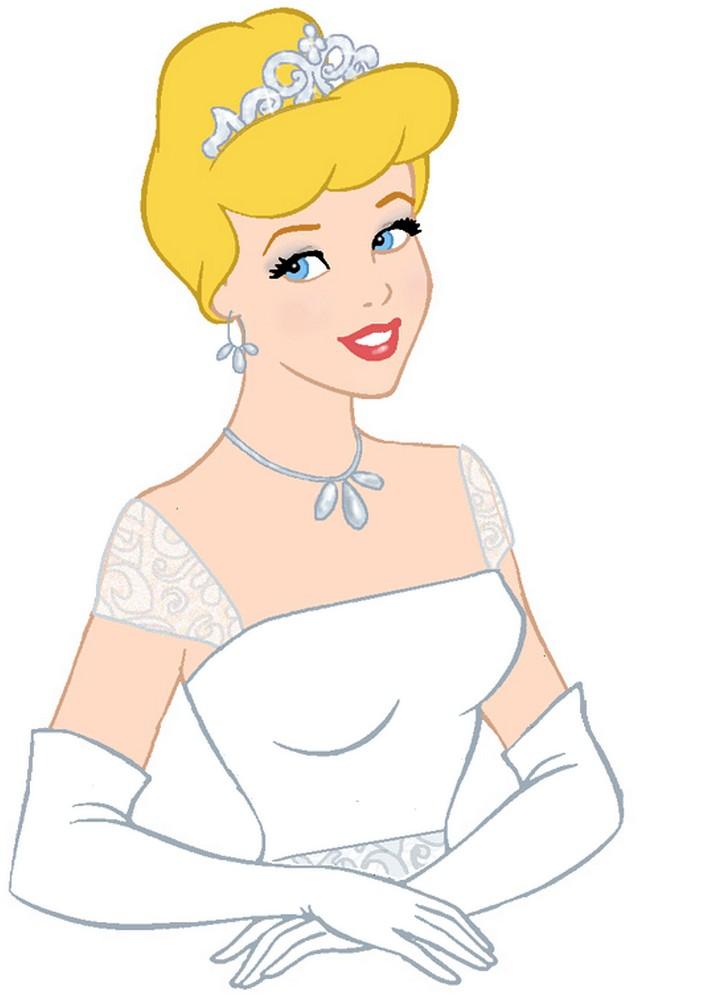 desenhos da cinderela e seus diversos vestidos de princesa
