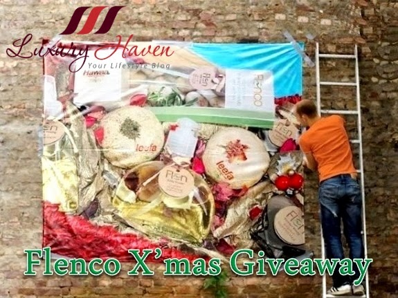 flenco beauty products christmas hamper giveaways