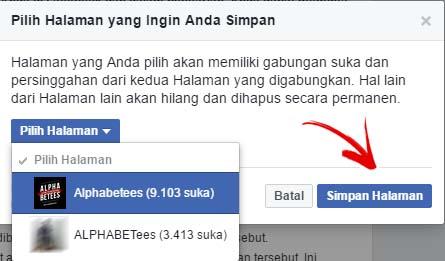 Cara Menggabungkan Fanspage Atau Halaman Facebook